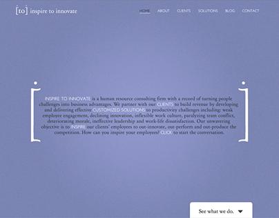 Inspire to Innovate | Branding + Website Design