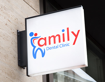 Commercial identity of dental clinic