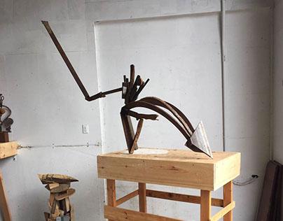 Sculpture by Ken Kelleher
