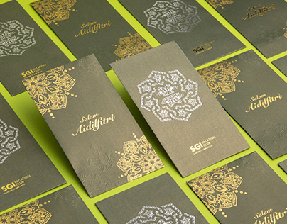 OSK Hari Raya packet & Greeting card 2016 & 2018