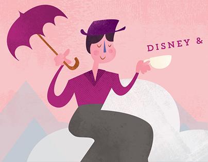 Mary Poppins/ Poster Design & Illustration