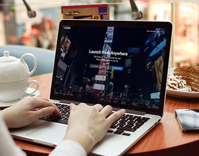 Mobilizr website version 2
