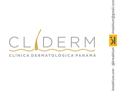 Logo Cliderm Panamá