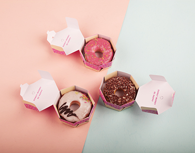 Donkin' Donuts // Packaging