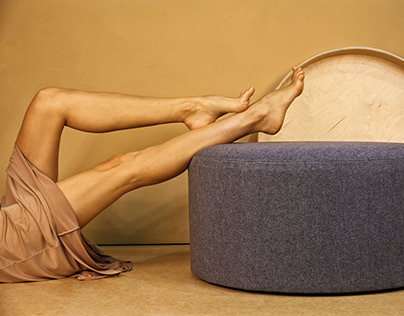 2-in-1 pouf table