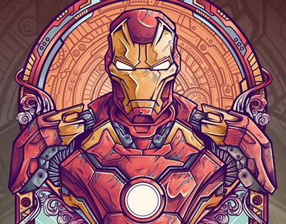 Iron Man Vs Ultron Fanart project