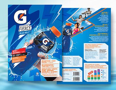 Gatorade Sell in kit