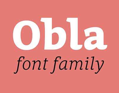 Obla Font Family