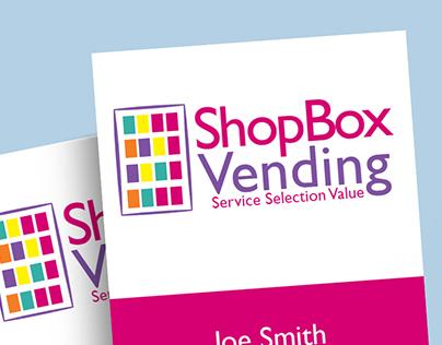 ShopBox Vending Branding