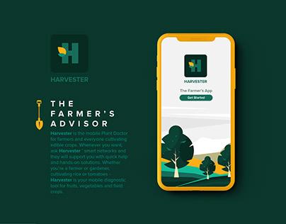 Harvester- Farmer's App- UI/UX
