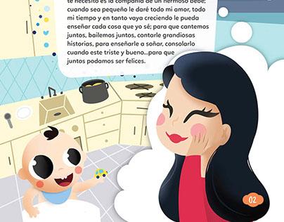 Diagramación e ilustración infantil