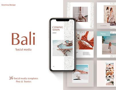 Bali   Social Media templates