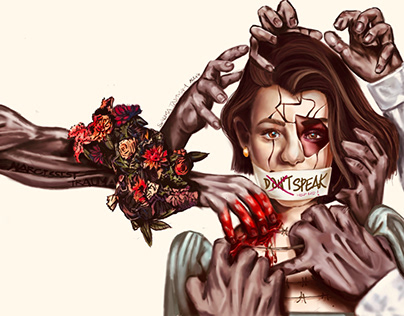 Commissioned illustration about narcissism