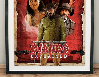 Django Unchained - Alternative poster