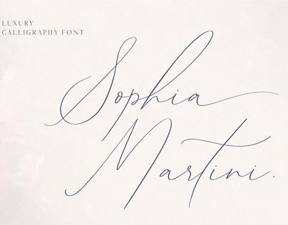 Sophia Martini Font