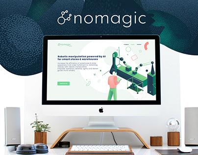 Nomagic ID + landing page