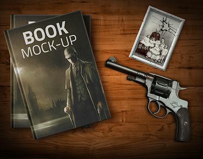 Free PSD Books Mockup