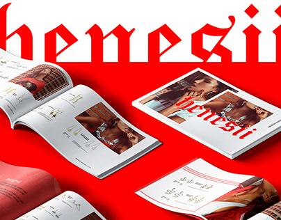 Henesii: Lookbook and Catalog design