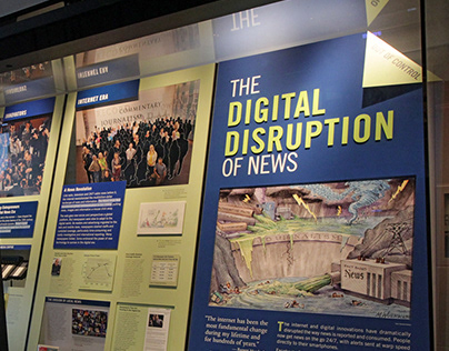 Newseum | Digital Disruption + A Deadly Attack