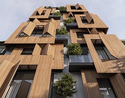 Eden residential building in Iran by Avat Design Studio
