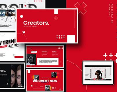 Creator Creative Multipurpose Template