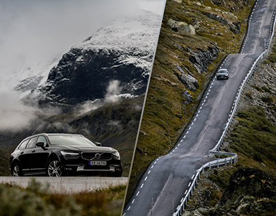 Volvo V90 Cross Country – Heading North