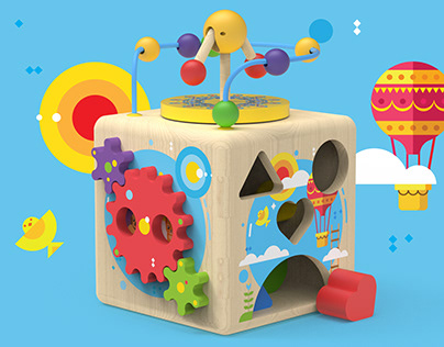 Early Learning Activity Cube