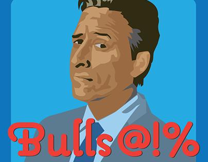 Jon Stewart Bulls**t stickers