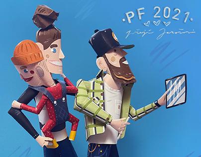 - PF 2021 - Paperwork illustration