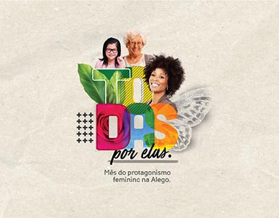 Dia da Mulher - Todas Por Elas