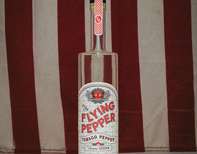 The Flying Pepper Vodka