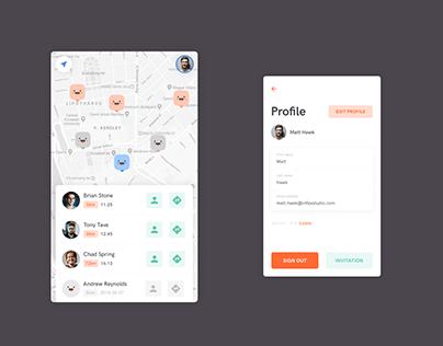 Loclify - App design