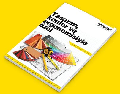 Moment Mimarlık Brochure Design &Logotype