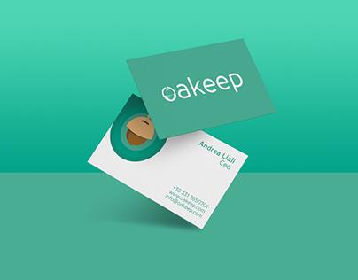 Oakeep - Logo and branding
