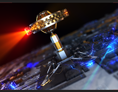 Motion Graphics   Element 3D   After Effects