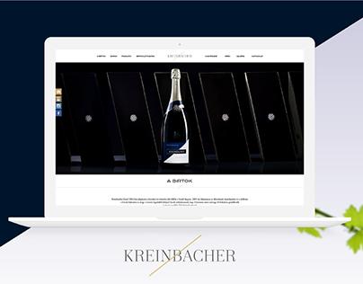 Kreinbacher Winery | Website Redesign