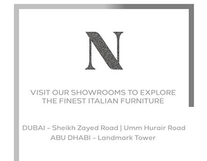 Natuzzi 3 DAY Super Sale - Dubai