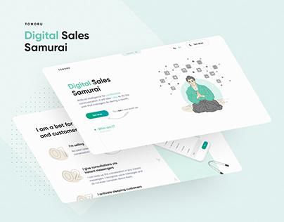 Digital Sales Samurai | Landing page