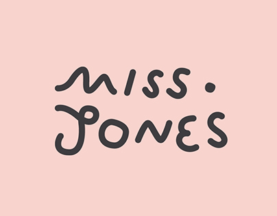 Miss Jones: Branding & Signage