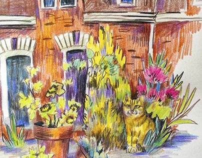 Holland Pencil Sketches