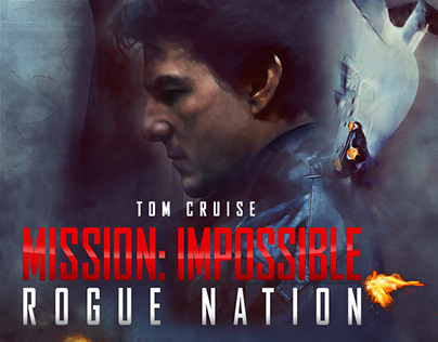 Mission Impossible 5 Fan Art Poster