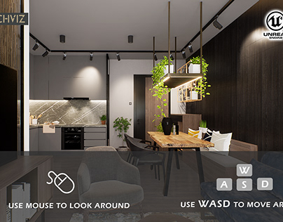 Unreal Engine 4 Modern Apartment Realtime