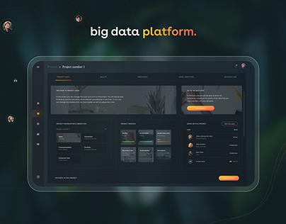 UI UX Case Study | Big Data Platform Dashboard