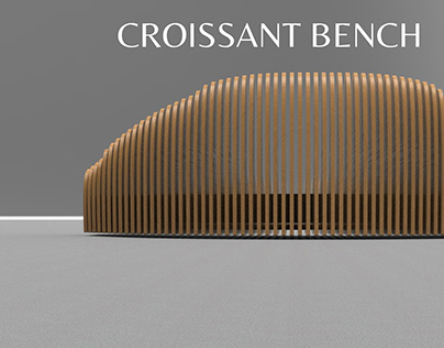 CROISSANT BENCH