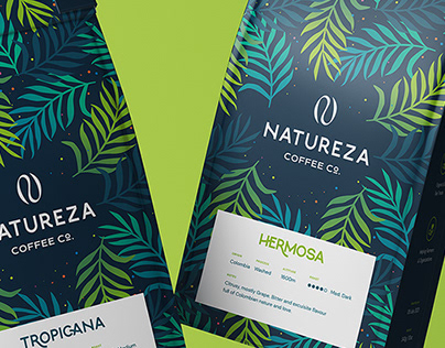 Natureza Coffee - Logo, Identity & Packaging