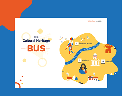 The Cultural Heritage Bus, Kids App
