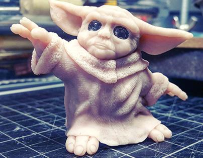 The Mandalorian . . . Baby Yoda