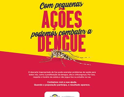 anúncio dengue - prefeitura municipal de parnamirim