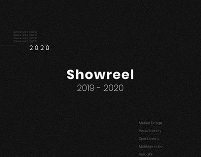 Showreel - 2019/2020