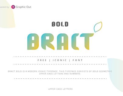 Bract Free Font